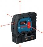 Nivela laser cu 5 puncte Bosch GPL 5 0601066200