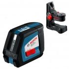 Nivela laser cu linii + suport universal Bosch GLL 2-50 + BM 1 0601063102