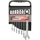 Set chei combinate cu clichet Yato 10-19MM 7BUC YT-0208