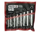 Set chei inelare cu cot Yato 6-22M YT-0396