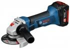 Polizor unghiular cu acc. Bosch GWS 18 V-LI 1 x 2.6 AH 060193A301